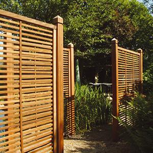 Palissades for Palissade bois exterieur