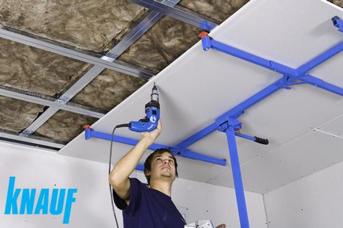 Plafond Suspendu Knauf Idées Dimages à La Maison